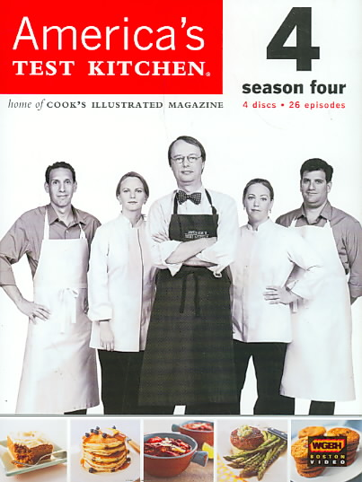 AMERICA'S TEST KITCHEN SEASON 4 BY AMERICA'S TEST KITCH (DVD)