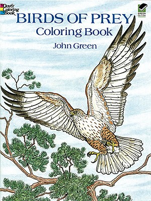 Birds of Prey Coloring Book By Green, John/ Weissman, Alan